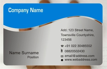 Awesome cool business cards by frosty plastic transparent business pic reheart Images