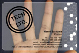 Clear business cards frosty plastic transparent business cards frosted card frosted card colourmoves Gallery